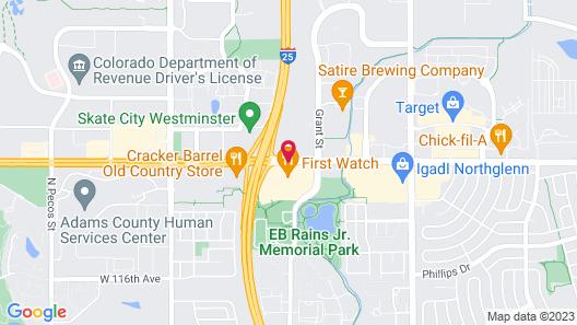Delta Hotels by Marriott Denver Northglenn Map