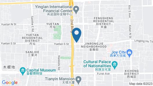The Ritz-Carlton Beijing Financial Street Map