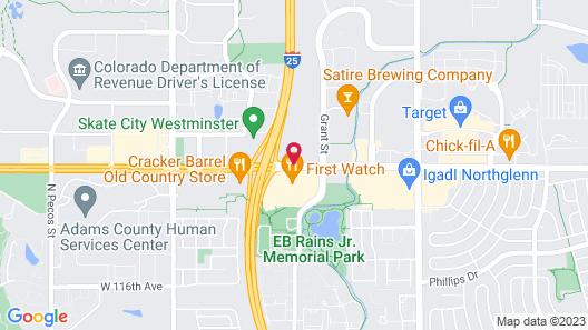 Doubletree by Hilton Hotel Denver - Thornton Map