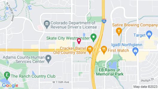 Fairfield Inn & Suites Denver North/Westminster Map