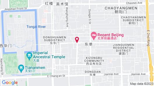 Waldorf Astoria Beijing Map
