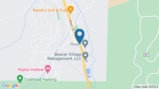 Snowblaze Resort & Athletic Club Map