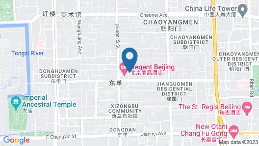 Park Plaza Beijing Wangfujing Map