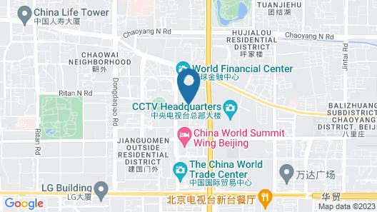 Grand Millennium Beijing Map