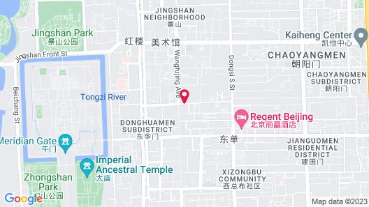 Sunworld Dynasty Hotel Beijing Wangfujing Map
