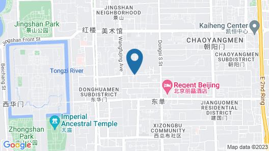 Sunworld Hotel Beijing Wangfujing Map