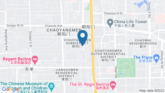Beijing INN Apartment - Wangfujing Map