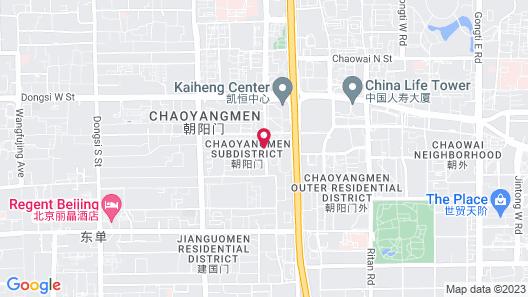 Crowne Plaza Beijing Chaoyang U-Town, an IHG Hotel Map