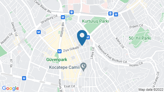 Deeps Hostel Map