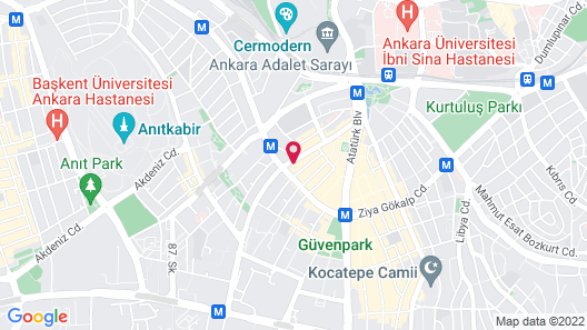 Business Park Hotel Map
