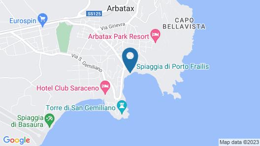 Charme Hotel La Bitta Map