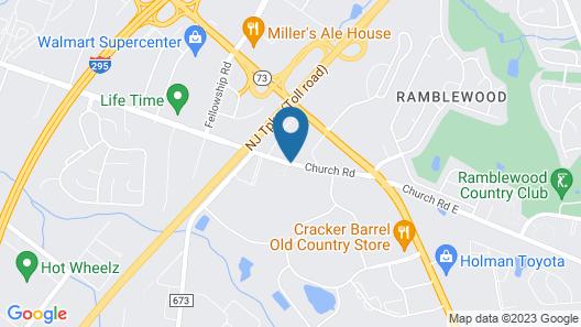 La Quinta Inn & Suites by Wyndham Mt. Laurel - Philadelphia Map