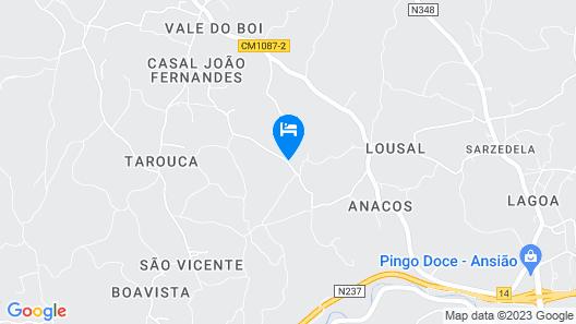 Holiday Villa - Casa Do Zelo Map