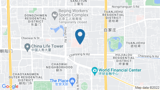 Conrad Beijing Map