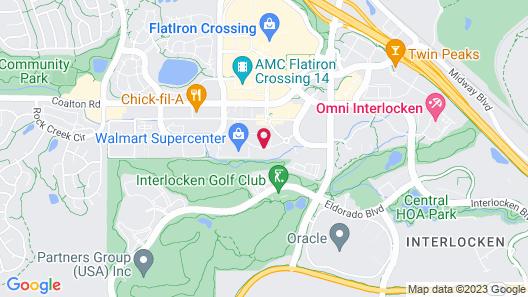 Fairfield Inn & Suites Boulder Broomfield/Interlocken Map