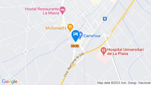Villareal Palace Hotel Map
