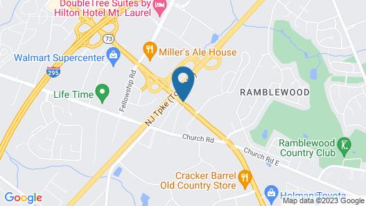 Clarion Hotel & Suites Map