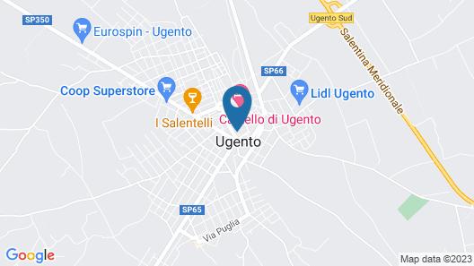 LA GINESTRA RESIDENCE Map