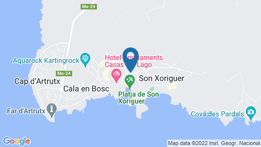 Grupotel Macarella Suites & Spa Map