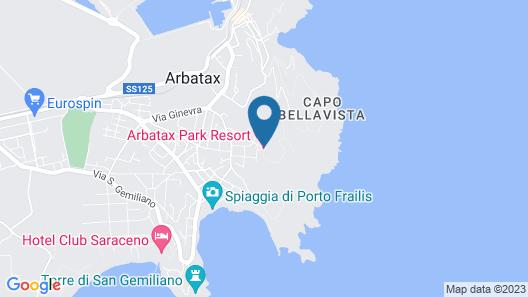 Arbatax Park Resort - Telis Map