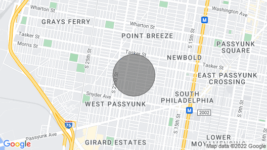 2023 Mcclellan · Clean and Sleek 2 Bedroom Home in South Philly Map
