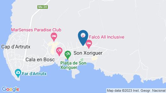 Grupotel Club Turquesa Mar  Map