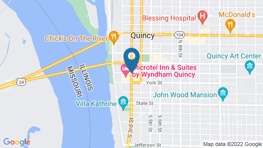 Microtel Inn & Suites by Wyndham Quincy Map