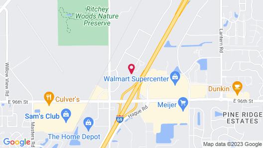 Staybridge Suites Indianapolis-Fishers, an IHG Hotel Map