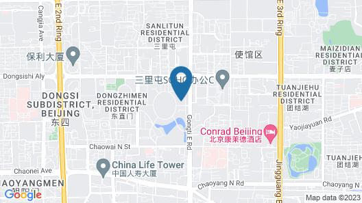 InterContinental Beijing Sanlitun, an IHG Hotel Map