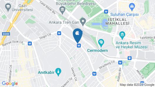 Ilci Residence Hotel Map