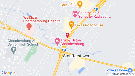 La Quinta Inn & Suites by Wyndham Chambersburg Map