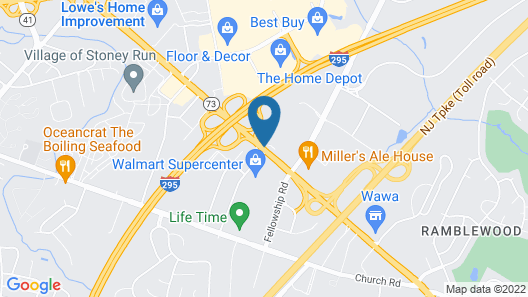 The Hotel ML Map