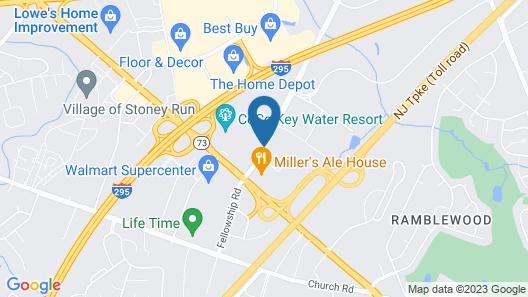 Super 8 by Wyndham Mount Laurel Map