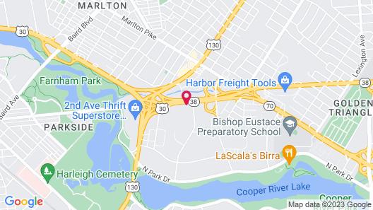 Best Western Plus Philadelphia-Pennsauken Hotel Map
