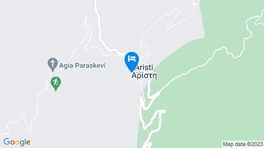 Aristi Mountain Resort and Villas Map