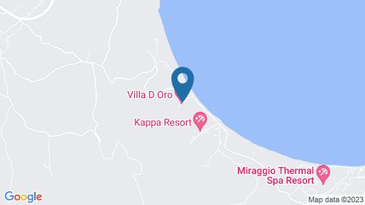 Villa D'Oro - Luxury Villas & Suites Map