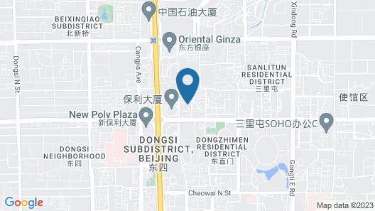 Holiday Inn Express Dongzhimen Map