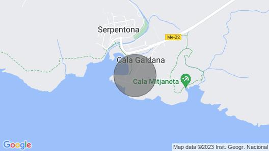 Cala Galdana Villa, Sleeps 8 With Pool, Air Con and Wifi Map