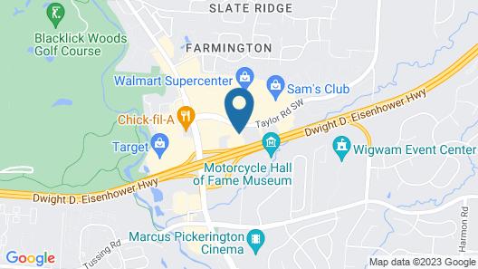 Holiday Inn Express & Suites Columbus East Reynoldsburg, an IHG Hotel Map