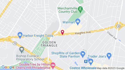 Days Inn & Suites by Wyndham Cherry Hill - Philadelphia Map
