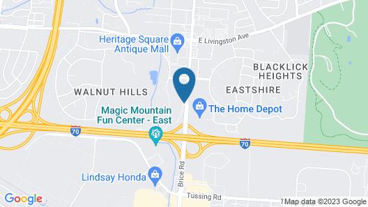 La Quinta Inn by Wyndham Columbus Airport Area Map