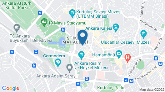 Hotel Mithat Map