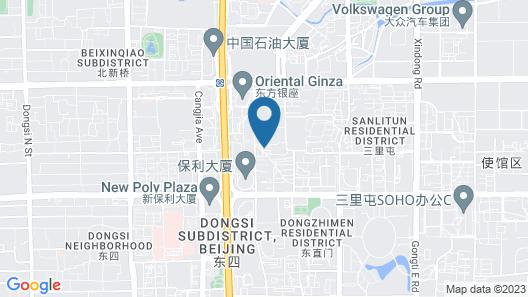 BeiJing YuanJia Apartment nearby Sanlitun Map