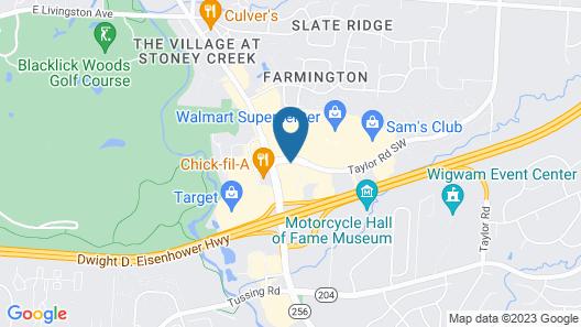 Fairfield Inn & Suites Columbus East Map