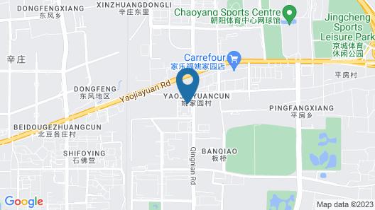 Oakwood Residence Damei Beijing Map