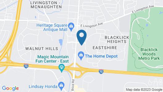 Days Inn by Wyndham Columbus East Airport Map