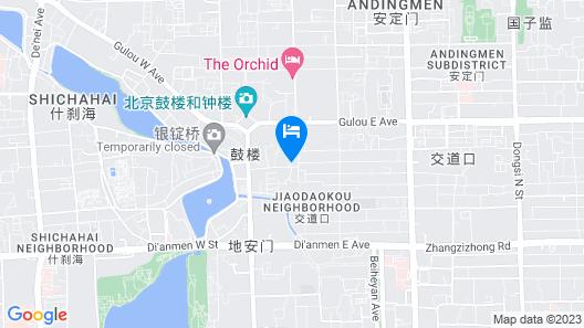 Haoyu Hotel - Beijing Map