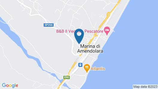 Villaggio La Lista Map