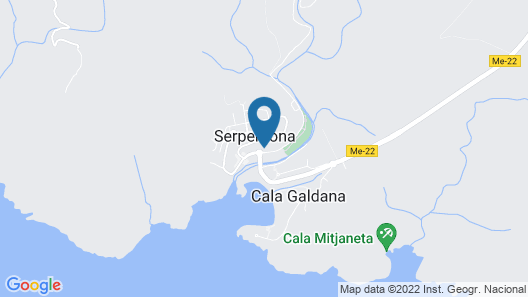 Hotel Cala Galdana & Apartamentos d'Aljandar Map