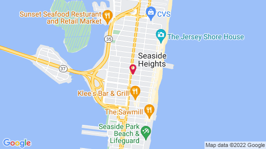 Sea Palace Inn Map